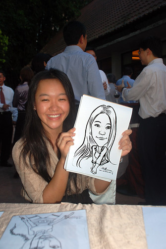Caricature live sketching for Parkway Health - 3