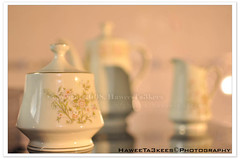 Tea Set, Still Life. ({ahradwani.com} Hawee Ta3kees- ) Tags: stilllife orange kitchen 35mm close tea object experiment ali hassan teaset doha qatar 2010  sampleimages d90 nikon35mm   sampleshot  nikond90 sb900   nikonsb900 nikond90club hawee nikon35mmf18  haweeta3kees   ta3kees ahradwanicom ahradwani nikond90sampleimages