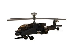AH-64 Apache Helicopter (4) (zackhariah) Tags: apache helicopter ah64 legoah64apachehelicopter