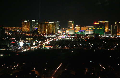 M Resort Room - View, Strip, Night