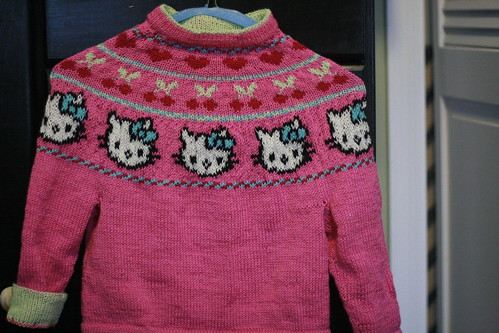 Knitting Pattern For Hello Kitty Sweater : crafty brooklyn: Hello Kitty