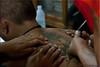 To the Point (Ursula in Aus) Tags: tattoo thailand yantra tattooing waikhru nakhonpathom นครปฐม ประเทศไทย sakyant tattoofestival รอยสัก watbangphra nakhonchaisi earthasia nakhonchaisri วัดหลวงพ่อเปิ่น ครู รูปสัก วัดบางพระ ลายสัก สักยันต