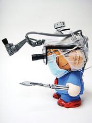 Heart Surgeon (Nikejerk3) Tags: kidrobot surgeon munny nikejerk