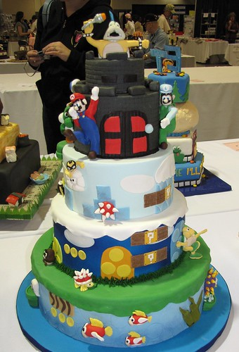 Super Mario Birthday Bash by Mendy Lindsay