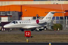 G-SYGC - 525A-0360 - Synergy Aviation Ltd - Cessna 525A Citation CJ2 Plus - Luton - 100305 - Steven Gray - IMG_7820