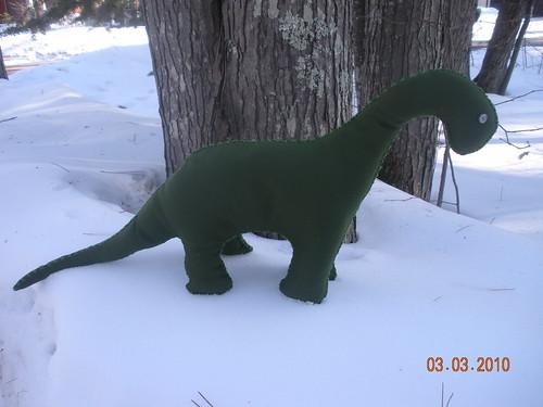 Dino Green Polyester 2