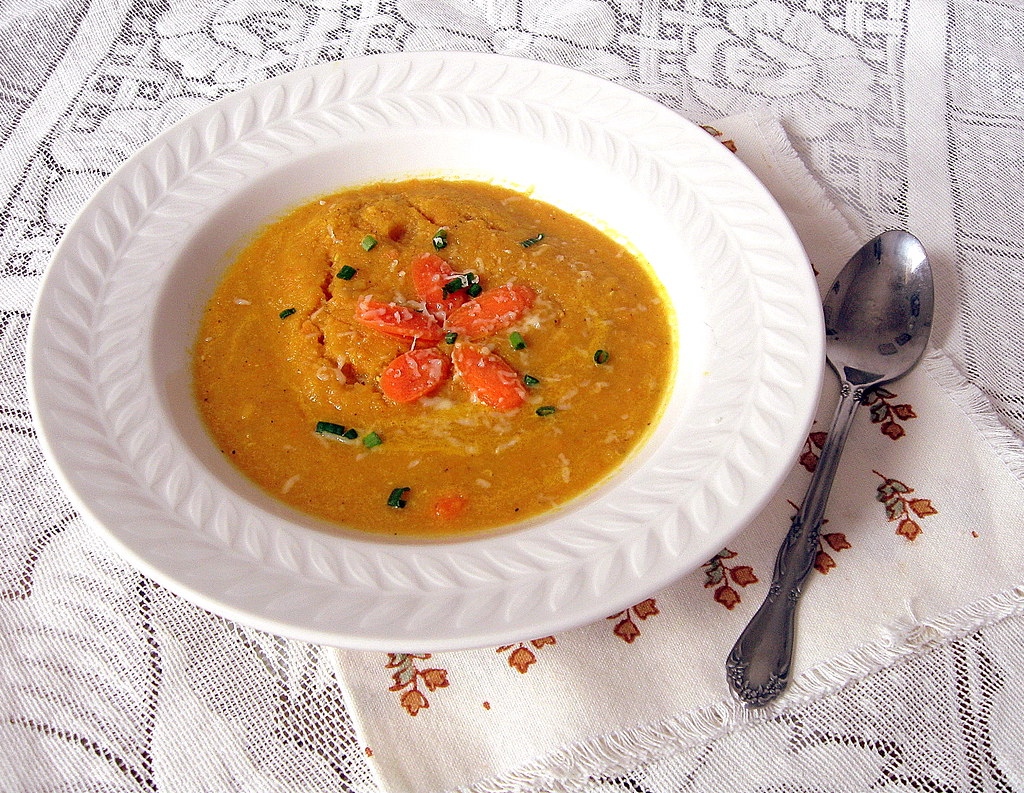 Carrot and Lentil soup-1