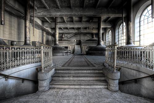Empty vats