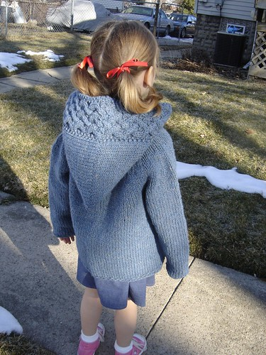 Arwen-inspired kid's cardi 1