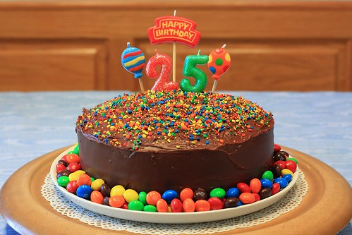 Dereks 25th Birthday Cake