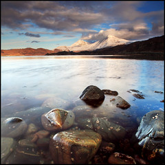 Rois-Bheinn (angus clyne) Tags: sea sun snow cold water rain shower scotland highlands bright crystal fresh clear loch roshven glenuig lochailort anstac leefilters colorphotoaward roisbheinn wonderworldgallery