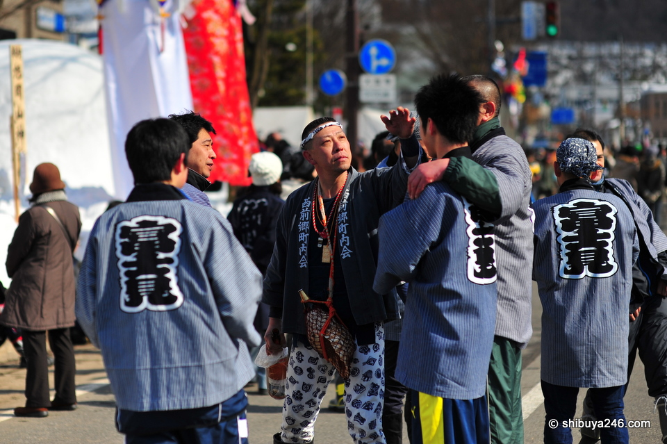 Festivals normally mean lots of fun and often Japanese Sake is involved