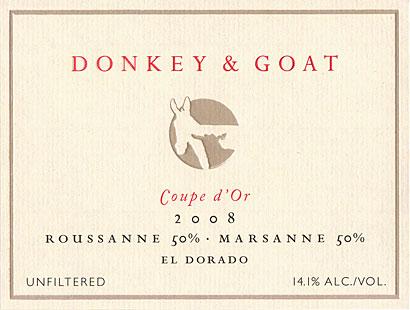 Donkey & Goat wines