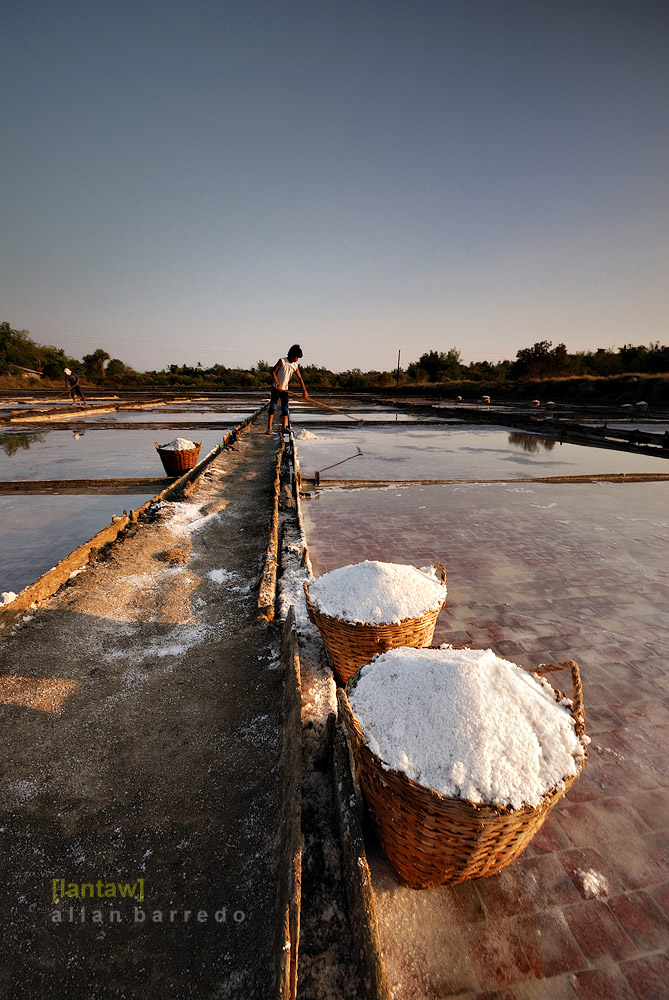 Pangsinan salt making
