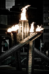DSC_5073 (the PhotoPhreak) Tags: winter vancouver whistler fire symbol flame olympic cauldron 2010 paralympic