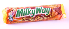 MilkyWay Simply Caramel Bar Wrapper