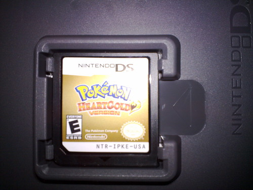 Game Card DS. HeartGold