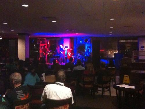 Benjamin Rose Band at the 18th Floor