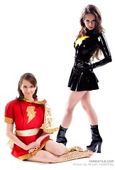 Something about Mary (A_Riddle) Tags: comics dc costume cosplay mary latex marvel captian dcomics marymarvel