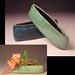 Rebekah Thomas ikebana boat vases