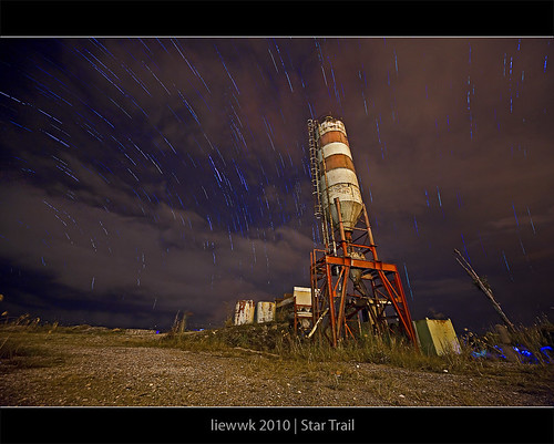 another star trail
