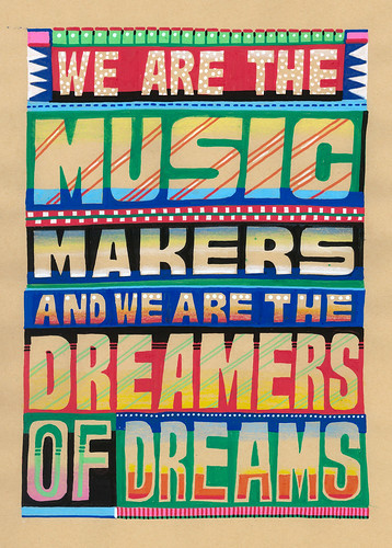 Job Wouters,We are the Music Makers, 2007