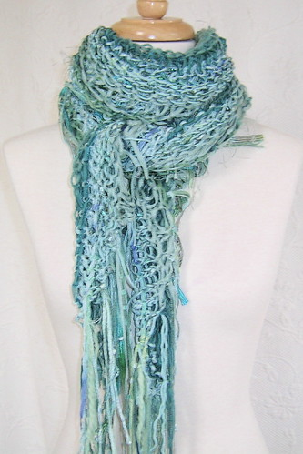Pale Teal Shawl