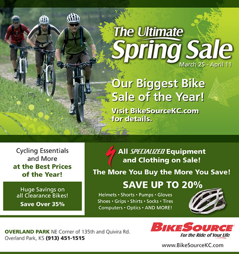 BikeSource 2010 Spring Sale