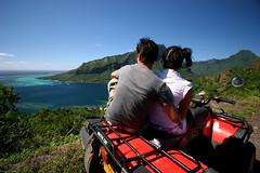 Moorea en quad (Tahiti Tourisme Espaa) Tags: ocean trip viaje blue sea beach sport azul island polynesia mar holidays wave playa quad adventure deporte tahiti isla vacaciones ola active moorea aventura ecoturismo ecotourism polinesia ocano todoterreno turismoactivo