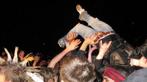 Crowd Surfing to GWAR by Incase., on Flickr