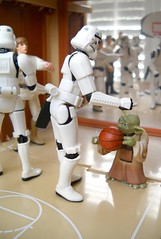 THE GAME! (tomo_moko) Tags: basketball march starwars yoda stormtroopers madness lukeskywalker chewbacca hansolo stormtrooperhighschool