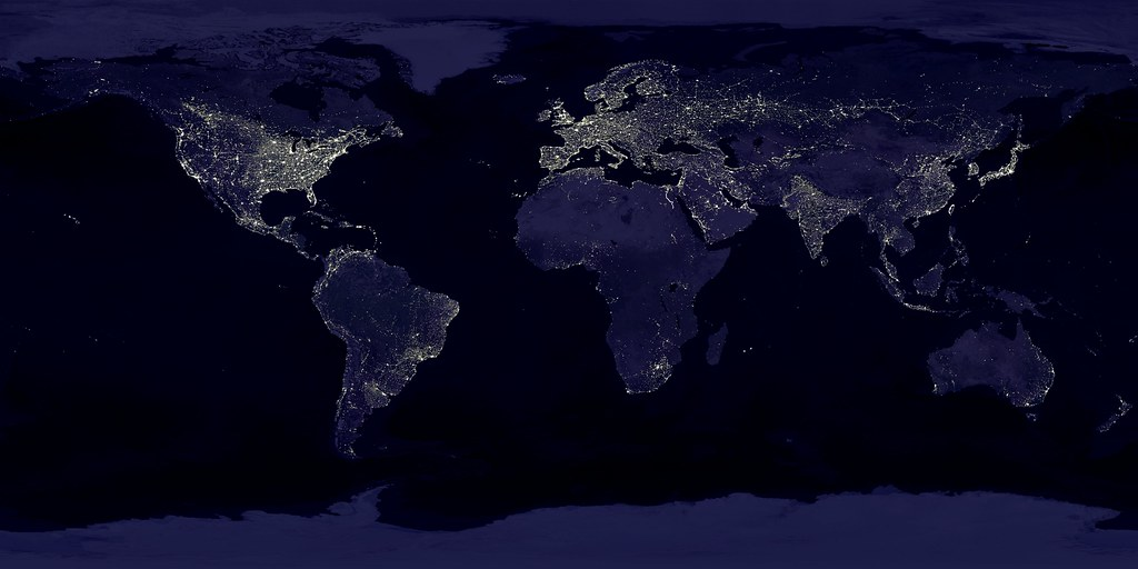 Earth Lights at Night