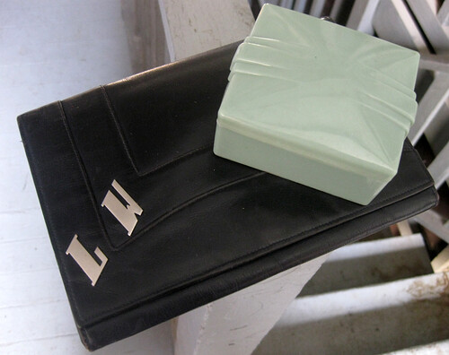 Art Deco Purse & Box