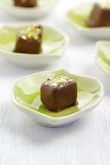 Chocolats macro