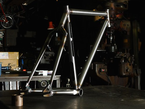 """Yabusame"" test frame only for BikePolo"