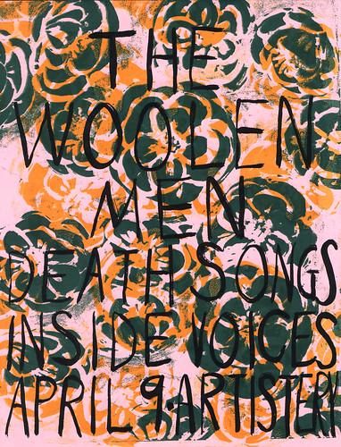 Woolen Men Artistery Poster