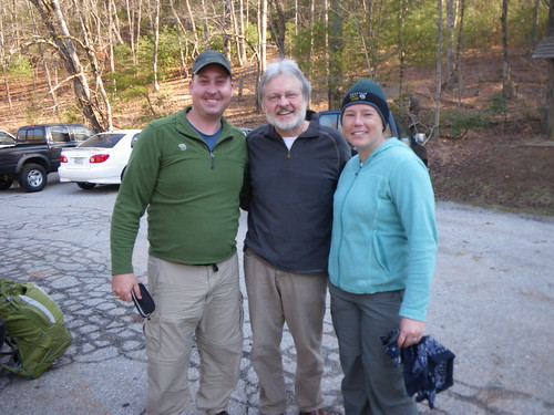 Chris, Misti , and Gary (owner of the Blueberry Patch)
