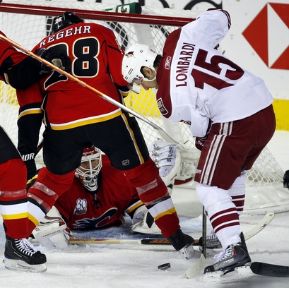 Coyotes Flames Hockey