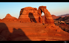Delicate Arch ([eYn]) Tags: sunset nature utah arches delicatearch gmt landsape delicatearchtrail