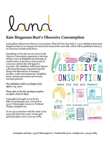 Obsessive Consumption by Kate Bingaman-Burt