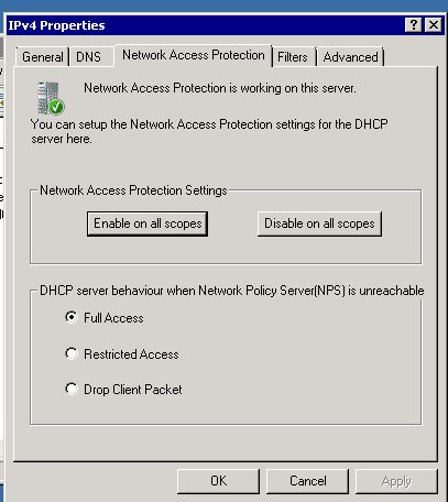"You get ""Iashlpr initialization failed"" error after installing DHCP"
