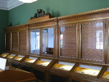 Danish Kings Coin Cabinet