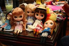 nyc blythe meet 4.3.10 (cybermelli) Tags: new york city nyc friends alps dolls group gathering april kenner blythe takara teahouse meet 2010 sts