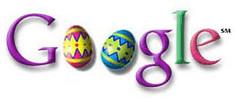 Google Easter Logo