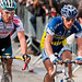 Björn Leukemans and Philippe Gilbert. Ronde van Vlaanderen 2010.