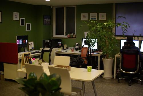 사무실 모습