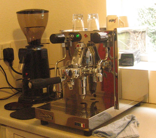 Magister stella and Spaziale grinder