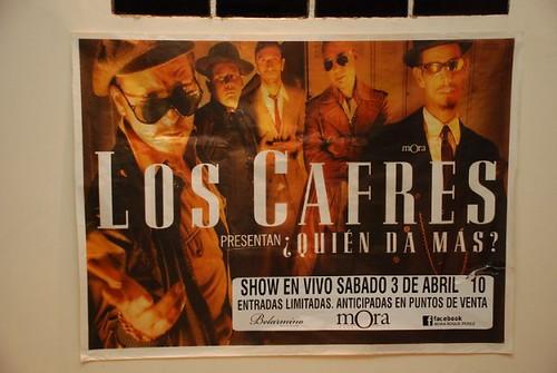 Los Cafres en Mora Sab 03/04/10