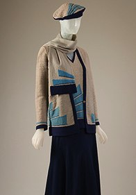 Sportswear, 1929, France, FIT Exhibition