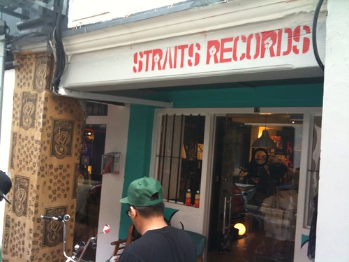 "New Straits records location. They had a snapcasr 7"" in a glass display case."